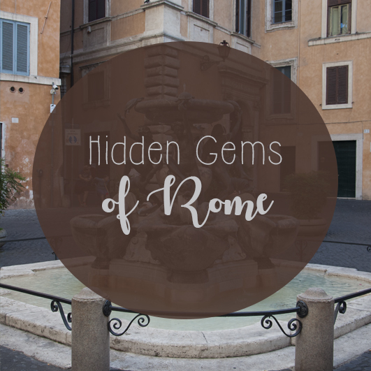 hidden gems of Rome