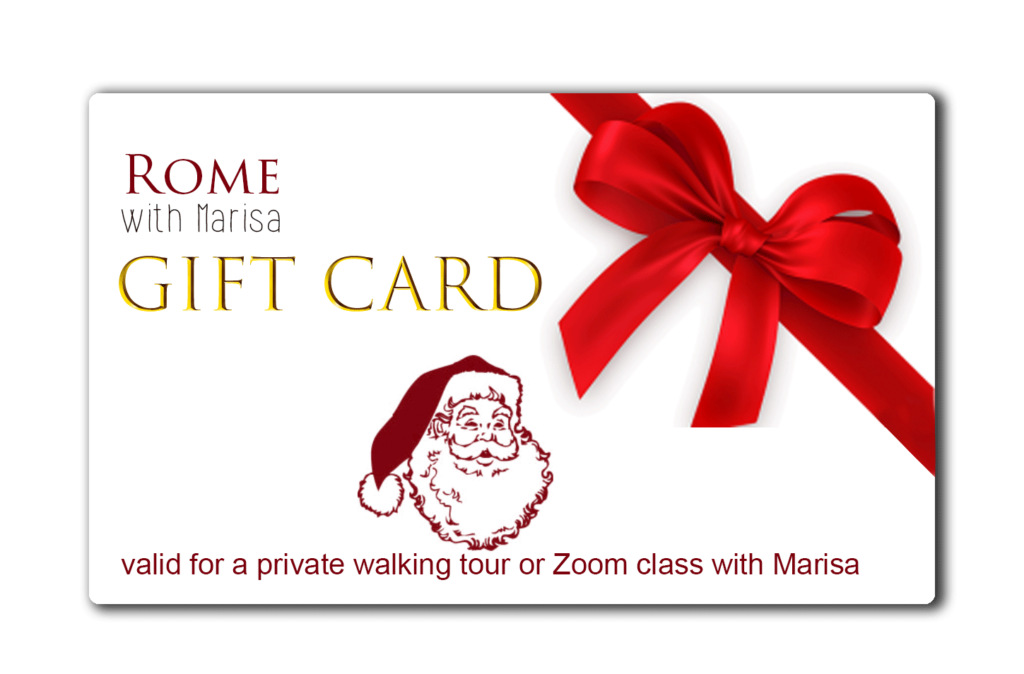 gift card Tour with Marisa